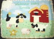 farm, cows