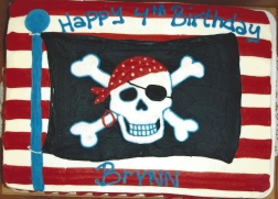 skull, pirate, flag