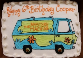 mystery machine, scooby