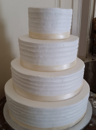 4 tier - ribbon